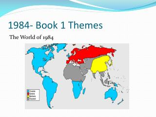 1984- Book 1 Themes