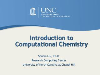 Introduction to Computational Chemistry