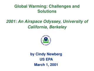 by Cindy Newberg US EPA  March 1, 2001