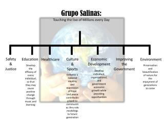 Grupo Salinas: Touching the live of Millions every Day