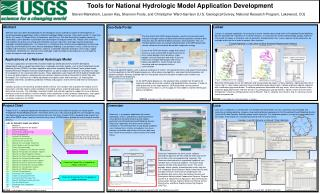 Tools for National Hydrologic Model Application Development