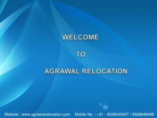 Agrawal Relocation, Packers and Movers Ahmedabad, Rajkot