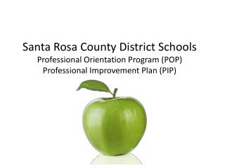 SRCDS: Professional Orientation Program (POP)