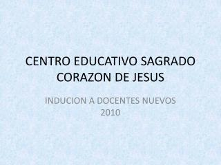 CENTRO EDUCATIVO SAGRADO CORAZON DE JESUS