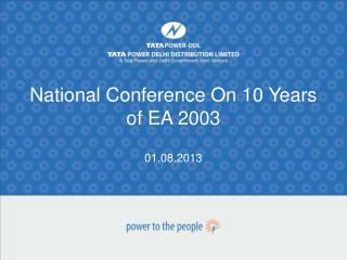 National Conference On 10 Years of EA 2003