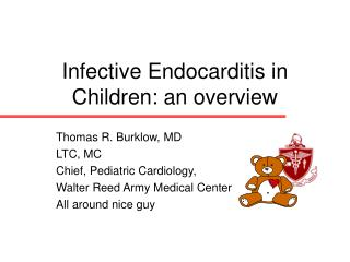 Infective Endocarditis in Children: an overview