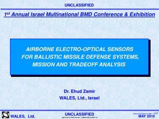 Dr. Ehud Zamir WALES, Ltd., Israel