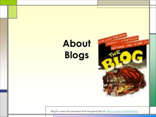 About Blogs