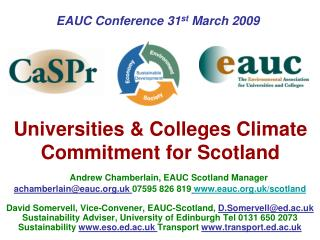 Universities  Colleges Climate Commitment for Scotland