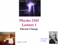 Physics 2102 Lecture 1