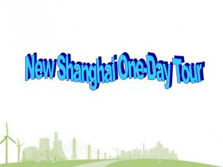 New Shanghai One-Day Tour
