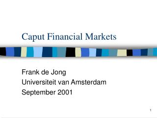 Caput Financial Markets