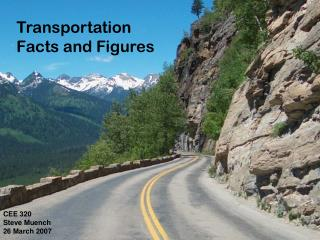 Transportation  Facts and Figures