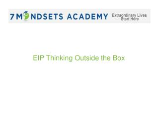 EIP Thinking Outside the Box