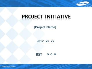 Project Initiative