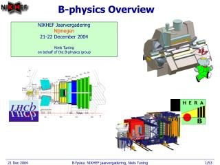 B-physics Overview