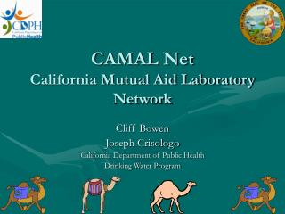 CAMAL Net California Mutual Aid Laboratory Network