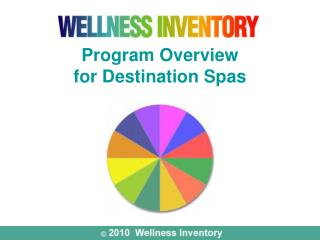 Program Overview for Destination Spas