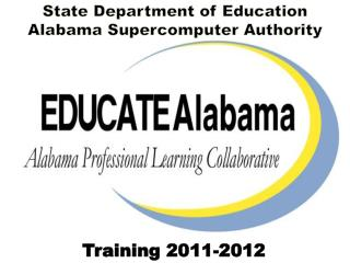 State Department of Education  Alabama Supercomputer Authority