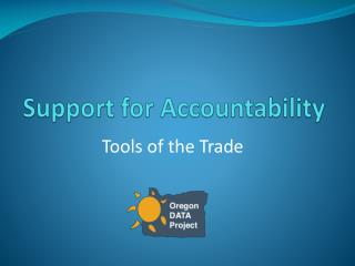 Support for Accountability