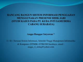 Angga Hanggar S atyawan 1 )