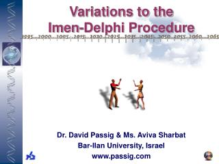 Variations to the  Imen-Delphi Procedure
