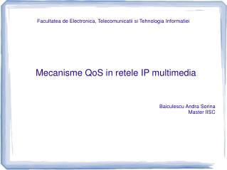Facultatea de Electronica, Telecomunicatii si Tehnologia Informatiei
