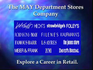 The MAY Department Stores Company