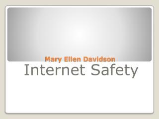 Mary Ellen Davidson