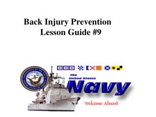Back Injury Prevention Lesson Guide #9