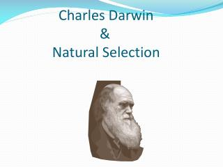 Charles Darwin  				   &                 Natural Selection