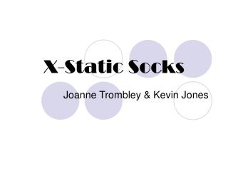 X-Static Socks
