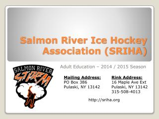Salmon River Ice Hockey Association (SRIHA)