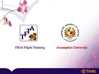 THAI Flight Training Assumption University