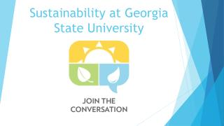 Sustainability at Georgia State University