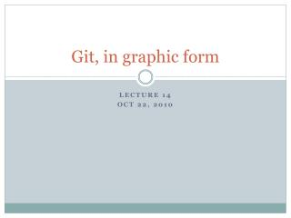 Git , in graphic form