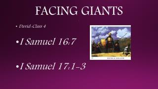 FACING GIANTS c
