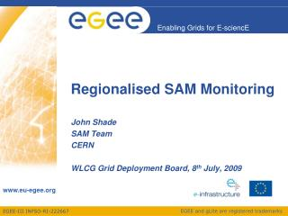Regionalised SAM Monitoring