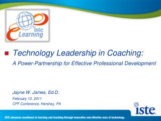 Technology Leadership in Coaching:  A Power-Partnership for Effective Professional Development