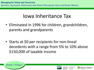 Iowa Inheritance Tax