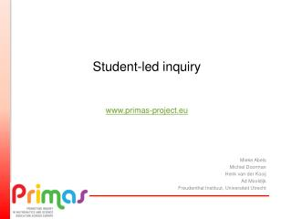 Student-led inquiry primas-project.eu