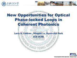 New Opportunities for Optical Phase-locked Loops in  Coherent Photonics