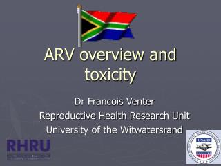 ARV overview and toxicity