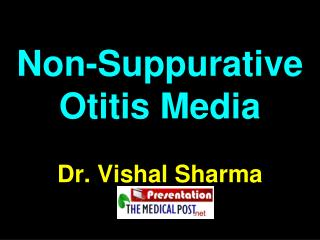 Non-Suppurative Otitis Media