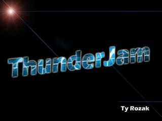 ThunderJam Overview Gameplay Narrative Characters Game World Levels