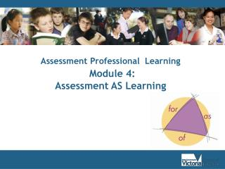 Assessment Professional  Learning Module 4:  Assessment AS Learning