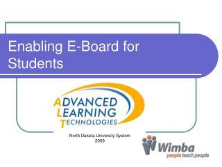 Enabling E-Board for Students