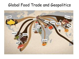 Global Food Trade and Geopolitics