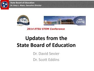 Updates from the  State Board of Education