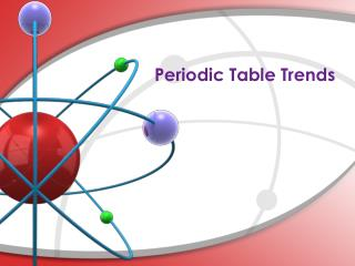 Periodic Table Trends